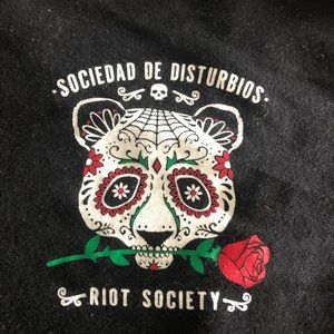 Riot Society T Shirt Size Large